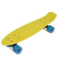 "Пенни борд Fish Skateboards 22"" Лайм"