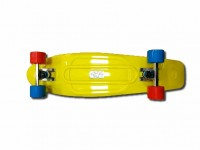 "Лонгборд Fish Skateboards 27"" Yellow"