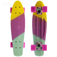 "Пенни борд Fish Skateboards Скейтборд Fish 22"" радуга"